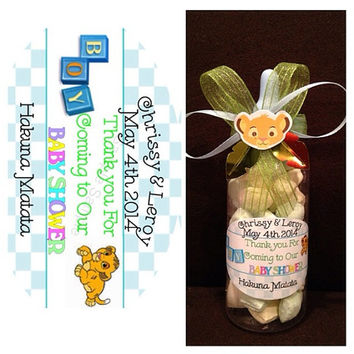Lion King Baby Bottle Favors