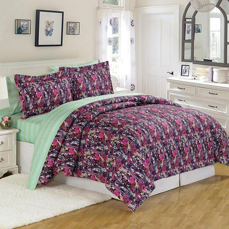 Burlington Coat Factory Home Decor: 4pc Teen Bedding Set Twin 647620650