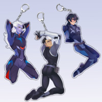 Voltron earphone cord holder from rianemone