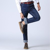 Winter Casual Denim Jeans [277905178653]