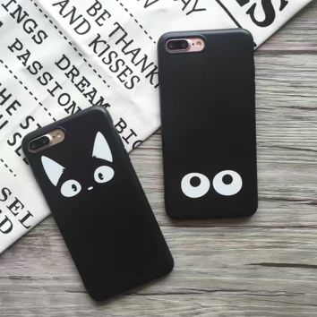 Cute Meow Cat Eyes Iphone 7 7Plus &6 6S Plus Cover Case + Nice Gift Box