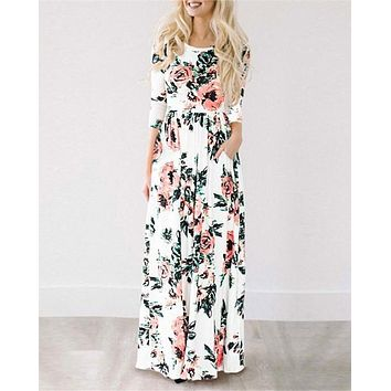 Finder Keepers Floral Boho Maxi Dress