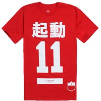 SLC Los Angeles Big In Japan T-Shirt - Mens Tee - Red