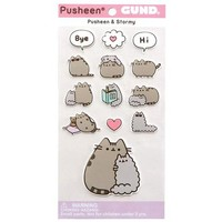 Pusheen and Stormy Puffy Stickers