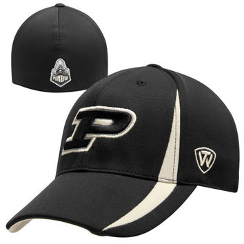 Top of the World Purdue Boilermakers Triumph One-Fit Flex Hat - Black
