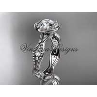 Platinum diamond engagement ring VD10081