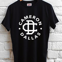 cameron dallas logo T-shirt Men, women and Youth