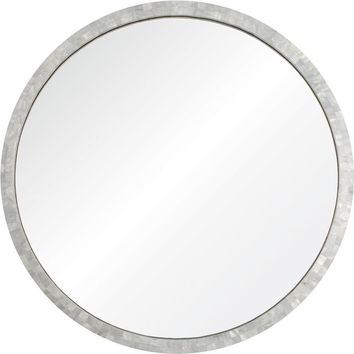 Quick Overview:Round Mother Of Pearl Mirror