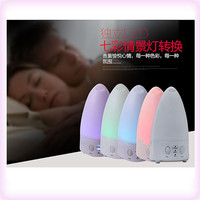 Free Shipping  Rainbow LED color changing Ultrasonic Aroma Air Humidifier  Purifier Diffuser Misk Maker for Home for Office