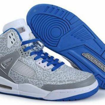 Cheap Air Jordan 3.5 Spizike Retro Men Shoes Grey Blue