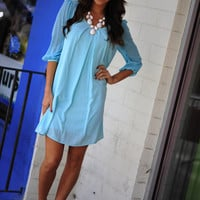 Easy, Breezy, Beautiful Dress: Sky Blue | Hope's
