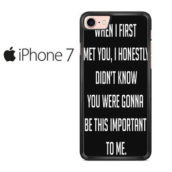 Best Friend Quote 2 Iphone 7 Case