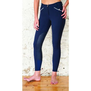 For Horses Pat Knee Patch Breech