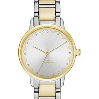 Kate Spade Two-Tone Scallop Gramercy Watch Two Tone Gold ONE