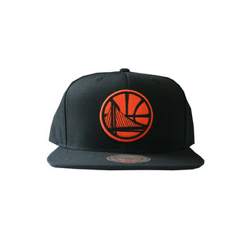 Mitchell & Ness Golden State Warriors City Color Switch In Black