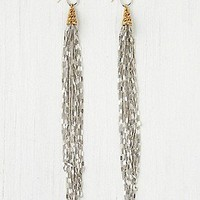 Vanessa Mooney  Chain Fringe Earring at Free People Clothing Boutique