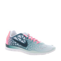 Nike Free Training Fit 3 Dye White/Green Trainers at asos.com