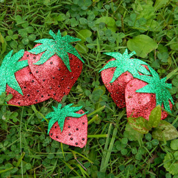 Strawberry Pasties Burlesque Lingerie Accessories