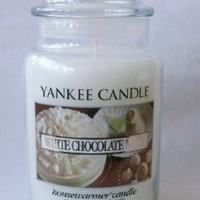 White Chocolate Mint - 22 Oz Large Jar Yankee Candle