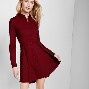 tulip skirt shirt dress