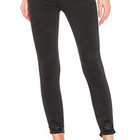 J Brand Natasha Sky High Crop Skinny in Bellatrix Destruct | REVOLVE