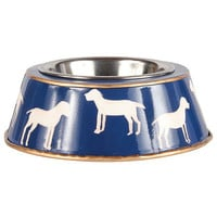 Westminster Navy Dog Bowl