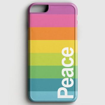 Rainbow Peace iPhone 6 Plus/6S Plus Case