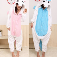 Anime Hoodie Animal Pyjamas For Adult Onesuit Christmas Unicorn Pajama Costume Cosplay Unicorn Onesuit free shipping