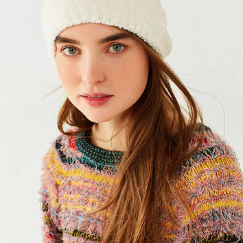 Chenille Ribbed Beanie | Urban Outfitters