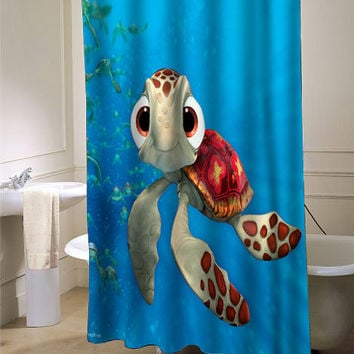 Squirt Finding Nemo 3D 3 Shower Curtain
