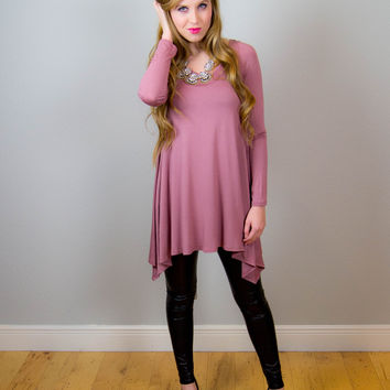 Girl Almighty Tunic - Mauve