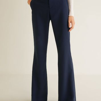 Flared trousers - Woman | MANGO Denmark