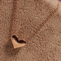 1PC Gothic Heart Crystal Choker Handmade Necklace Pendant Retro Trendy Heart Design Necklaces 80 90s New