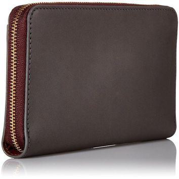 CREYON2D Skagen Compact Zip Wallet Leather Wallet