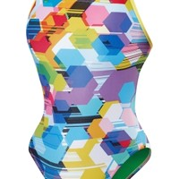 Poly Gone Mesh Back - Speedo Endurance Lite - Performance - Speedo USA SwimwearSpeedo USA - WOMEN: Shop by Category: Swimwear: Performance: Poly Gone Mesh Back - Speedo Endurance Lite