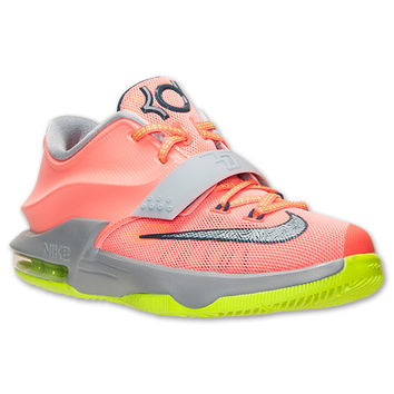 Boys' Grade School Nike KD 7 Basketball Shoes