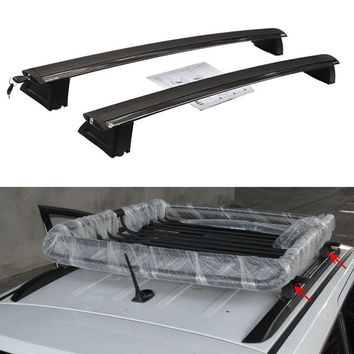 BBQ@FUKA Car Roof Rack Cross Bars Luggage Holder Fit For Jeep Grand Cherokee 2011-2016