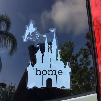 Disney Is My Home Car Decal, UV Resistant, Outdoor