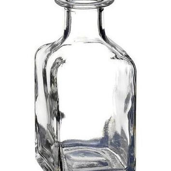 """Clear Glass Floral Bud Vase - 5"""" Tall"""