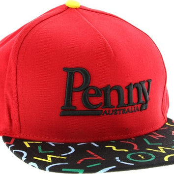 Penny Logo Cap Adjustible Bel Air Red/Black/Rasta