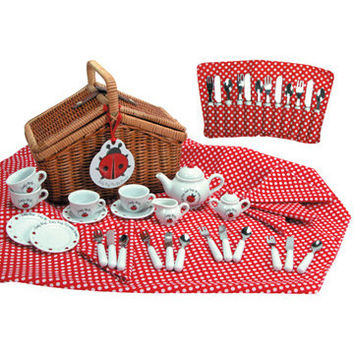 Lady Bug Tea Set