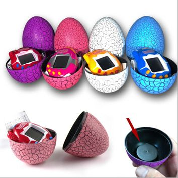 Egg Shape Virtual Cyber Digital Pets Electronic Digital E-pet Retro Funny Toy Handheld Game Pet Machine Toy