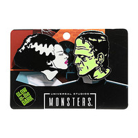 Universal Monsters Glow-In-The-Dark Enamel Pin Set