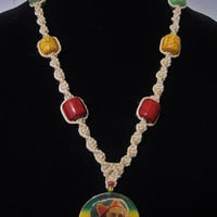 50% OFF SALE! Bob Marley Hemp Necklace