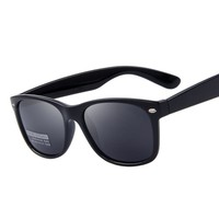 Classic Men Retro Rivet Shades Sunglasses