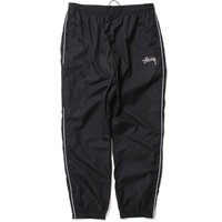 Side Pocket Nylon Pant Black