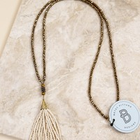 The Hendrix Tassel Necklace | BPD