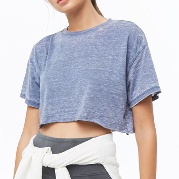 Active Burnout Crop Top