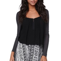 LA Hearts Tribal Skater Skirt - Womens Skirt - Black