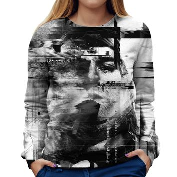 Kurt Cobain Womens Sweatshirt